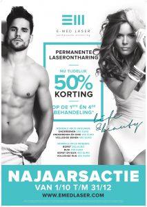 Korting Permanente Laserontharing